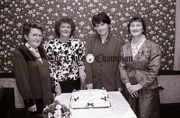 A Broadford ICA dinner dance at The West County Hotel, Ennis, to celebrate the group's 25th anniversary - November 12, 1994. Photograph by Eamon Ward
