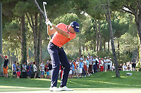 during the final round of the Turkish Airlines Open, Montgomerie Maxx Royal Golf Club, Belek, Turkey. 10/11/2019<br /> Picture: Golffile | Phil INGLIS<br /> <br /> <br /> All photo usage must carry mandatory copyright credit (© Golffile | Phil INGLIS)