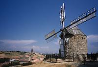 Europe/France/Midi-Pyrénées/81/Tarn/ Lautrec: le Moulin à vent