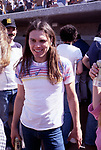 The Eagles 1978 Timothy B. Schmit at Eagles vs Rolling Stone Mag softball game<br /> &copy; Chris Walter