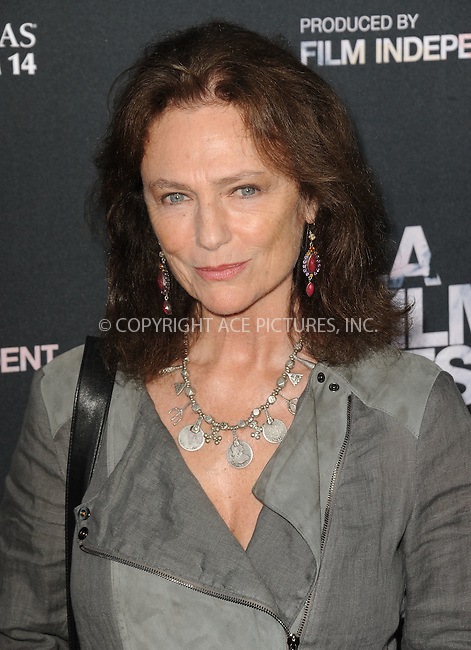 WWW.ACEPIXS.COM<br /> <br /> June 10 2015, Los Angeles Ca<br /> <br /> Jacqueline Bissett arriving at the 'Grandma' premiere at Regal Cinemas on June 10 2015 in Los Angeles Ca.<br /> <br /> Please byline: Peter West/ACE Pictures<br /> <br /> ACE Pictures, Inc.<br /> www.acepixs.com<br /> Email: info@acepixs.com<br /> Tel: 646 769 0430