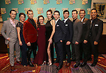 The ensemble cast attends the Broadway Opening Night After Party for 'A Bronx Tale' at The Marriot Marquis Hotel on December 1, 2016 in New York City.