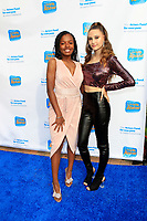 LOS ANGELES - OCT 28:  Liv Simons, Makayla Phillips at the 2018 Looking Ahead Awards at the Taglyan Cultural Complex on October 28, 2018 in Los Angeles, CA