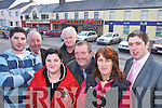 TOWN: L-r: Shay Kelleher, DJ OKeeffe, Joanne Buckley, Tom Fox, Donal McCarthy, Julie Kelleher and Niall Kelleher from the Rathmore Action Planning Committee who are looking for town status for Rathmore.