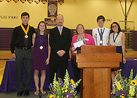 Guerin Catholic Spirit of the Mission Awards Program 5-23-16