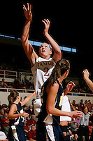 STANFORD, CA - NOVEMBER 8:  Jayne Appel of the Stanford Cardinal during Stanford's 107-55 win over the UCSD Toreros on November 8, 2009 at Maples Pavilion in Stanford, California.