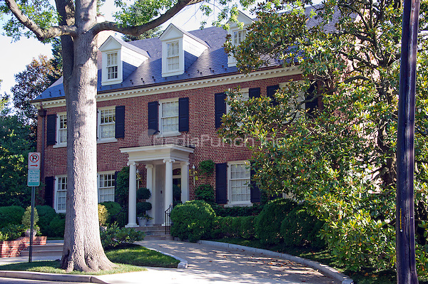 View of the Clinton home in Washington, DC on Saturday morning, July 2, 2016.  Former United States Secretary of State Hillary Clinton is rumored to be questioned by the FBI today in relation to her personal e-mail server that is the center of controversy.<br /> Credit: Ron Sachs / CNP<br /> (RESTRICTION: NO New York or New Jersey Newspapers or newspapers within a 75 mile radius of New York City)/MediaPunch
