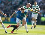29.04.18 Celtic v Rangers: Scott Brown and Josh Windass