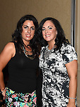 Louise Kelly and Josephine Matthews pictured at the white collar boxing in the Westcourt Hotel in aid of Drogheda Animal Rescue. Photo:Colin Bell/pressphotos.ie