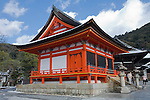 Kyoto City,  Japan<br /> Kiyomizu Temple, bell tower building