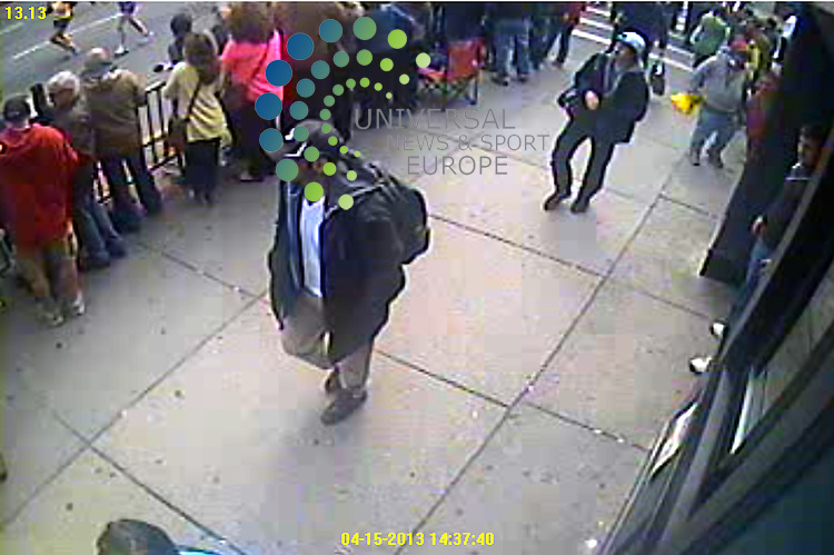 The FBI has released better quality photos of two suspects it wants to identify as part of the investigation into Monday's Boston marathon bombings.<br />