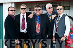 The Righteous Dudes band from Tralee celebrating the 30th anniversary of the band Mossie O'Shea on Saxophone and Des McGillicuddy on lead guitar, John Buggy on bass and lead vocal, Nick Maloney on keyboards, Damien Greer on drums.