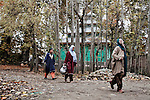 Life  in Pattan Village in Baramulla district , Home of many Half widows in Kashmir 2011.