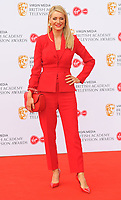 Tess Daly at the British Academy (BAFTA) Television Awards 2019, Royal Festival Hall, Southbank Centre, Belvedere Road, London, England, UK, on Sunday 12th May 2019.<br /> CAP/CAN<br /> ©CAN/Capital Pictures