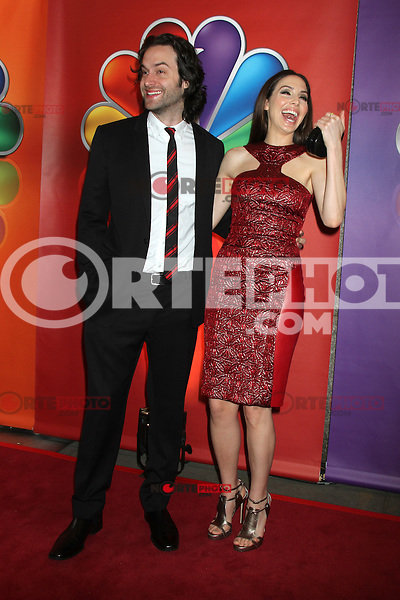 Chris D'Elia and Whitney Cummings at NBC's Upfront Presentation at Radio City Music Hall on May 14, 2012 in New York City. © RW/MediaPunch Inc.