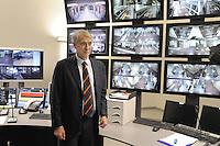 - Milano, collaudo della nuova linea 5 della Metropolitana, il sindaco Giuliano Pisapia nella sala operativa del sistema automatico....- Milan, testing of the new Metro line 5, the Mayor Giuliano Pisapia in the control room of the automated system