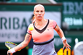 4th June 2017, Roland Garros, Paris, France; French Open tennis championships;   SVETLANA KUZNETSOVA (RUS)  during day seven match of the 2017 French Open on June 4, 2017, at Stade Roland-Garros in Paris, France.