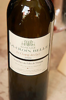 Le Champs des Lys, Vin de Pays des Cotes de Thongue. Domaine La Croix Belle. Cotes de Thongue. Languedoc. France. Europe. Bottle.