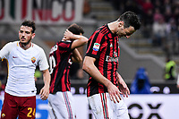 Nikola Kalinic Milan Dejection <br /> Milano 01-10-2017 Stadio Giuseppe Meazza Football Calcio Serie A 2017/2018 Milan - Roma Foto Federico Tardito/Insidefoto