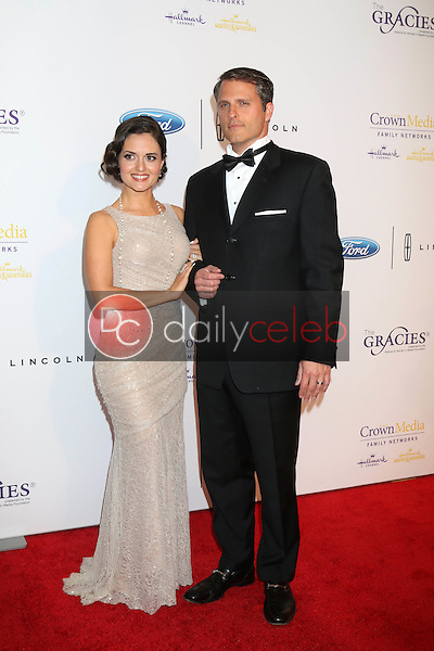 Danica McKellar, Scott Sveslosky<br /> at the 41st Annual Gracie Awards Gala, Beverly Wilshire Hotel, Beverly Hills, CA 05-24-16<br /> David Edwards/DailyCeleb.com 818-249-4998