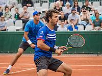 Paris, France, 3 June, 2017, Tennis, French Open, Roland Garros, Men's doubles Horia Tecau (ROU) / Jean-Julien Rojer (NED) (R)<br /> Photo: Henk Koster/tennisimages.com