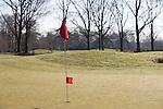 LOCHEM - oefenholes . Lochemse golfclub de Graafschap in de winter. COPYRIGHT KOEN SUYK