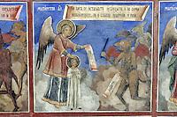 BG41207.JPG BULGARIA, RILA MONASTERY, CHURCH OF NATIVITY, frescoes