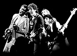 Bruce Springsteen 1978 with the E Street Band.© Chris Walter.