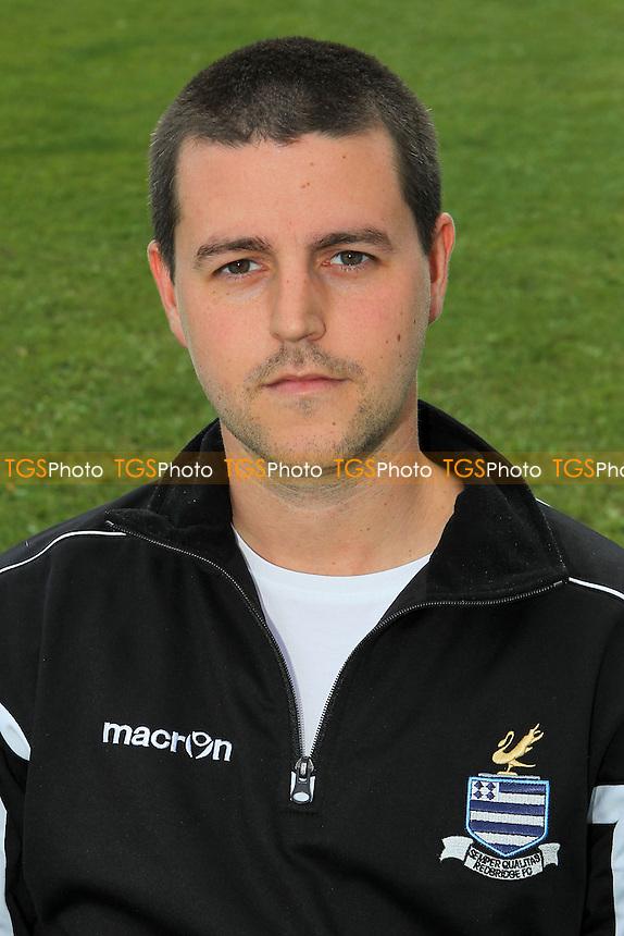Ricky Eaton (manager) of Redbridge FC - Redbridge Football Club Press Day at Oakside, Barkingside - 26/08/13 - MANDATORY CREDIT: Gavin Ellis/TGSPHOTO - Self billing applies where appropriate - 0845 094 6026 - contact@tgsphoto.co.uk - NO UNPAID USE