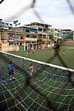 BRAZIL, Rio de Janiero, soccer game inside the Complexo do Alemao Favela