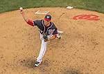29 May 2016: Washington Nationals pitcher Shawn Kelley on the mound against the St. Louis Cardinals at Nationals Park in Washington, DC. The Nationals defeated the Cardinals 10-2 to split their 4-game series. Mandatory Credit: Ed Wolfstein Photo *** RAW (NEF) Image File Available ***