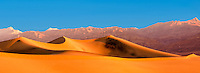 Desert Sand Dunes of Death Valley National Park California