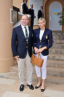 Prince Albert and Princess Charlene at Monte-Carlo Rolex Masters