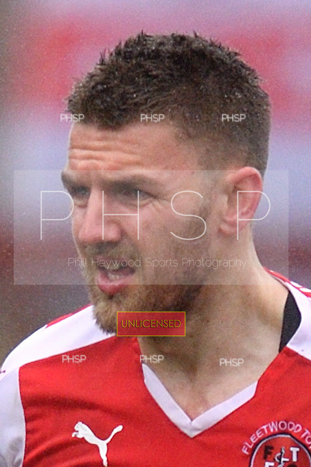 18/03/2017 Sky Bet League 1 Fleetwood Town v AFC Wimbledon<br /> <br /> Ashley Eastham, Fleetwood Town FC