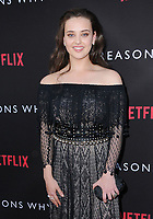 "30 March 2017 - Los Angeles, California - Katherine Langford.  Premiere Of Netflix's ""13 Reasons Why"" held at Paramount Studios in Los Angeles. Photo Credit: Birdie Thompson/AdMedia"