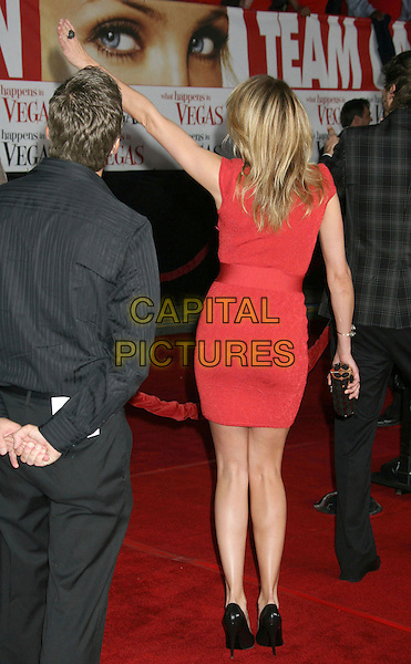 "01 May 2008 - Westwood, California - Cameron Diaz. ""What Happens In Vegas"" Los Angeles Premiere held at the Mann Village Theater. Photo Credit: Russ Elliot/AdMedia."