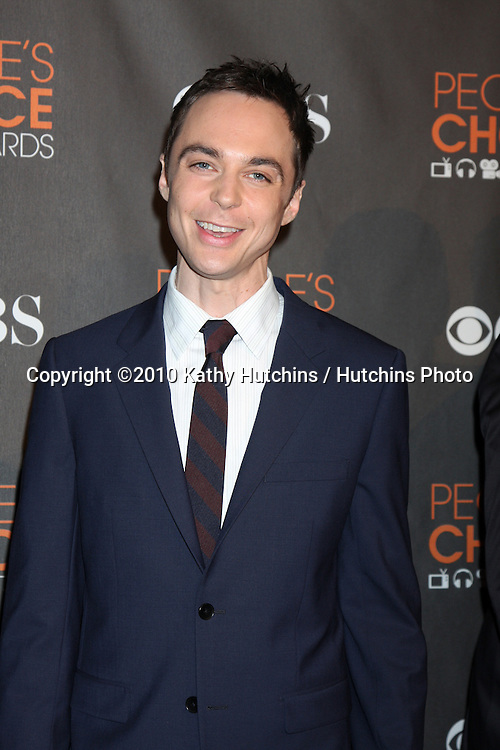 Jim Parsons.arriving  at the 2010 People's Choice Awards.Nokia Theater.January 6, 2010.©2010 Kathy Hutchins / Hutchins Photo.
