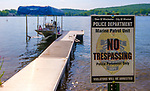 WINSTED,  CT-071919JS01--  The Winsted Police Department has increased its presence patrolling Highland Lake. Eight police officers, including Lopardo, are now trained and certified to be part of the marine patrol. <br /> Jim Shannon Republican American