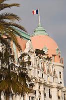 Europe/France/06/Alpes-Maritimes/Nice: Hôtel Le Négresco sur la Promenade des Anglais