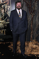 "HOLLYWOOD, CA - DECEMBER 02: Stephen Fry arriving at the Los Angeles Premiere Of Warner Bros' ""The Hobbit: The Desolation Of Smaug"" held at Dolby Theatre on December 2, 2013 in Hollywood, California. (Photo by Xavier Collin/Celebrity Monitor)"