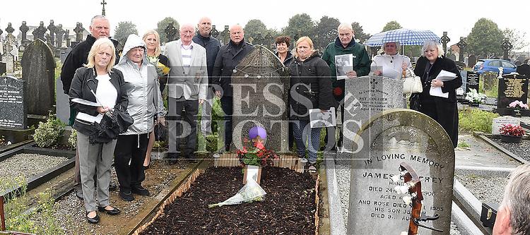 Thomas McKeever memorial service. Photo:Colin Bell/pressphotos.ie