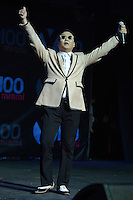 SUNRISE, FL - DECEMBER 08: PSY performs onstage during the Y100's Jingle Ball 2012 at the BB&T Center on December 8, 2012 in Miami.  Credit: mpi04/MediaPunch Inc. /NortePhoto