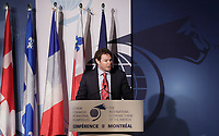 Montreal, CANADA, June, 2015  File Photo<br /> <br /> Louis Morisset,  President and CEO of the Quebec Autoritee des marches financiers (AMF)<br /> ,attend the The International Economic Forum of the Americas<br /> <br /> Photo :   Pierre Roussel - AQP