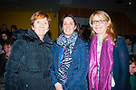 Music<br /> --------<br /> Enjoying the Sliabh Luachra young musician of the year in the Scartaglen community centre last Saturday night were L-R Kathleen O'Connor,Noeleen O'Donnell and Eileen Depaor,