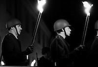 """Grosser Zapfenstreich"" by German Army, Germany 1994"