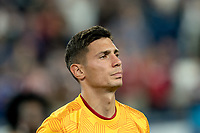 FOXBOROUGH, MA - SEPTEMBER 21: Damir Kreilach #8 of Real Salt Lake during a game between Real Salt Lake and New England Revolution at Gillette Stadium on September 21, 2019 in Foxborough, Massachusetts.