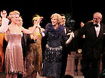 Blythe Danner Returns to Broadway: Kelli O'Hara, Blythe Danner, Terry Beaver.during the Curtain Call for 'Nice Work If You Can Get It'  at the Imperial Theatre in New York City on December 19, 2012