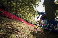 Arno Debeir (BEL/U23)<br /> <br /> U23 race<br /> Koppenbergcross / Belgium 2017