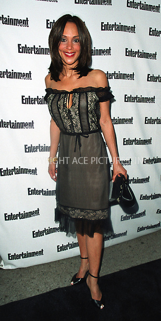 """Actress Lynne White attends Entertainment Weekly's """"It List Party"""" at Milk Studios in New York, June 24, 2002.  Please byline: Alecsey Boldeskul/NY Photo Press.   ..*PAY-PER-USE*      ....NY Photo Press:  ..phone (646) 267-6913;   ..e-mail: info@nyphotopress.com"""