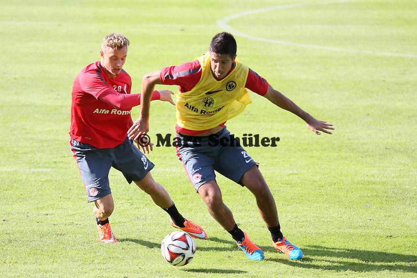 Sonny Kittel gegen Slobodan Medojevic - Eintracht Frankfurt Training, Commerzbank Arena
